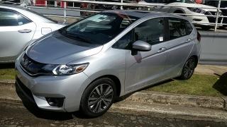 Honda Fit EX Plateado 2015