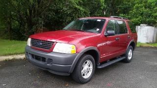 Ford Explorer XLS Rojo Vino 2003