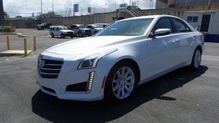 Cadillac Cts Sedan Rwd Negro 2015