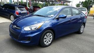 Hyundai Accent Gl Azul 2015