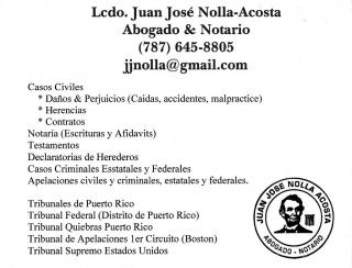 Notario a domicilio (Afidavits y escrituras)