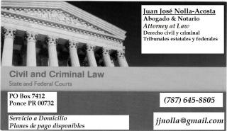 Consultas legales toda la isla
