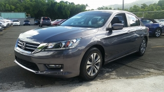 Honda Accord Sdn LX Gris 2013