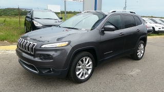 Jeep Cherokee Limited Gris 2016