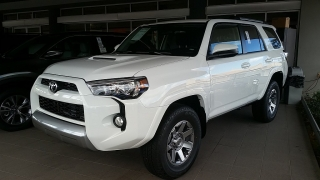 Toyota 4Runner Trail Blanco 2016
