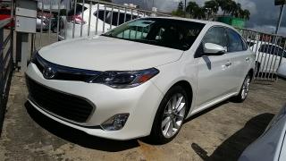 Toyota Avalon XLE Blanco 2013