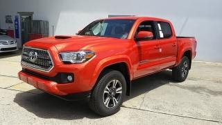 Toyota Tacoma TRD Sport Anaranjado 2017