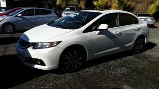 Honda Civic Sdn EX-L Blanco 2013