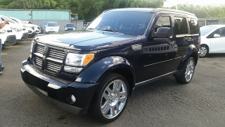 Dodge Nitro Heat Azul 2011