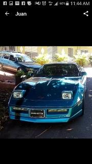 Chevrolet Corvette 1988 Azul