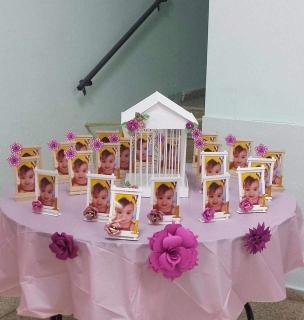 Decoracion Shabby Chic Pink & Gold Vintage