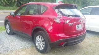 Mazda Cx-5 Sport Rojo 2015