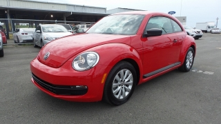 Volkswagen Beetle Coupe 1.8t Classic Rojo 2015