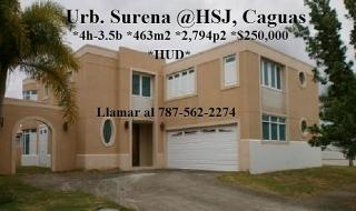 Urb Surena @ HSJ, Caguas  *HUD *3% Gastos de Cierre