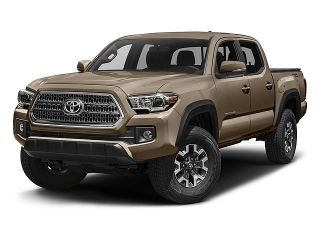 Toyota Tacoma Trd Off Road Red 2017