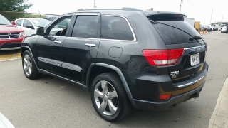 Jeep Grand Cherokee Overland Gris Oscuro 2011