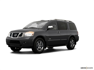 Nissan Armada Le Gris 2009