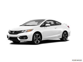 Honda Civic Coupe Si White 2014