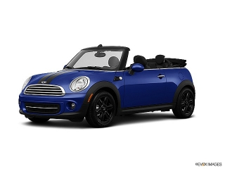 Mini Cooper Convertible Blue 2013