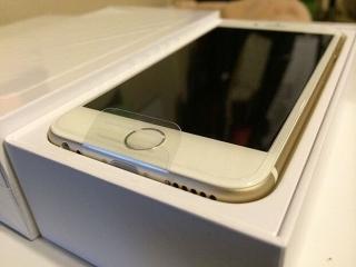 iPhone 6 de oro 64 gb con garantía hasta abril de 2017