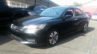 Honda Accord Sdn LX Negro 2013