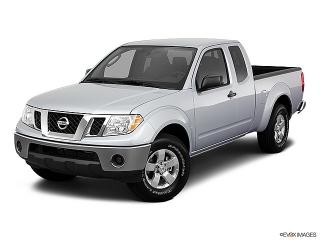 Nissan Frontier S Rojo Vino 2011