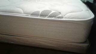 FULL SET SHADOW PLUSH MATTRESS Y BOXSPRING