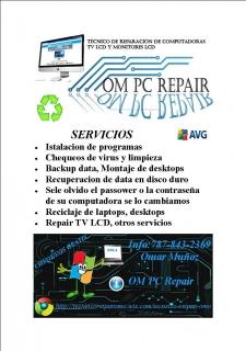 Reparacion de Computadoras OM PC REPAIR