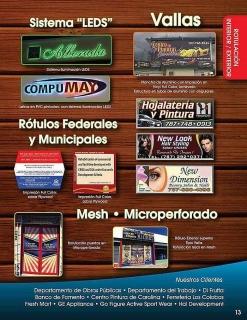 ROTULOS DE ALUMINIO