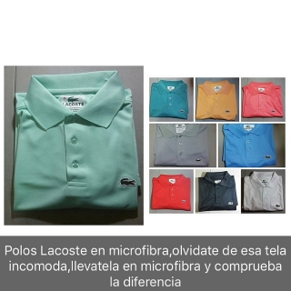 Polos y tshirts Lacoste