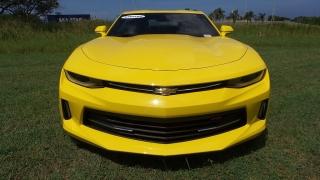 Chevrolet Camaro Lt Amarillo 2016