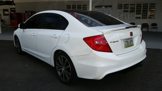 Honda Civic Sdn Si Blanco 2012