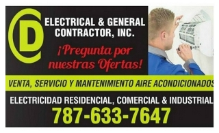 CD Electrical & General Contractor, Inc.