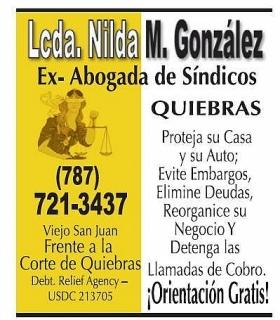 Lcda. Nilda M. Gonzalez