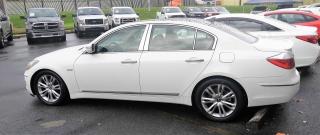 Hyundai Genesis Blanco 2010