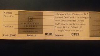 CERTIFICADO HOTEL EMBASSY SUITE EN DORADO