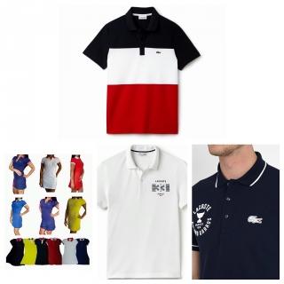 Camisas Lacoste y Hugo Boss