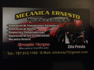 Mecanica a Domicilio Ernesto
