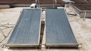 Placas de calentador solar