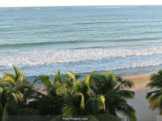 Remodeled One Bedroom Fully Equipped Beach Front Apartment