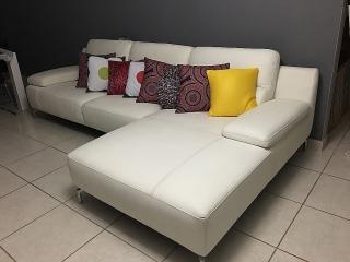 Mueble Blanco 100% Piel