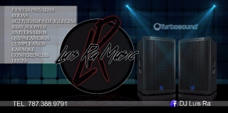 servicio de música variada (DJ)