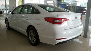 Hyundai Sonata 2.4L SE Blanco 2016