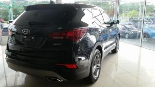 Hyundai Santa Fe Sport 2.4L Negro 2017