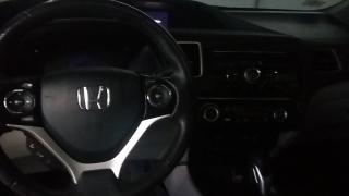 Honda Civic Sdn Ex-l Plateado 2013