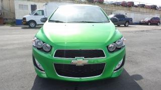 Chevrolet Sonic RS Verde 2016
