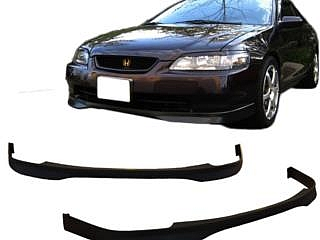 98-02 ACCORD 2 PTS FRONT LIP TYPE-R GOMA PU