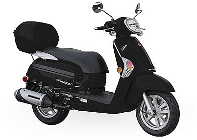 KYMCO LIKE 200 SCOOTER TIPO CLASICO EXCELENTE