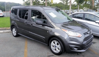 Ford Transit Connect Wagon XLT Gris Oscuro 2016