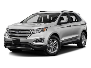 Ford Edge Sel Gray 2016
